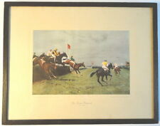 John S. Sanderson Wells The Grand National Horse Steeplechase Race Canal Turn
