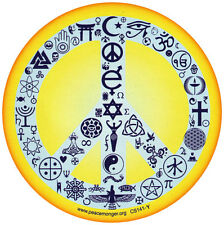 Coexist Peace Sign - Bumper Sticker / Decal