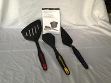 Tupperware Cooking Utensils Spatula Spoon Cake / Pie Cutter Server - 3pc Set New