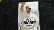 EA SPORTS CRICKET 2005 PC-CD NEW SEALED ( realistic cricket simulation game )
