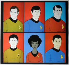 STAR TREK POSTER PAGE . THE ANIMATED SERIES . NOT DVD V6