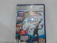 GAME PARTY: IN MOTION --- XBOX 360 Complete CIB w/ Box, Manual