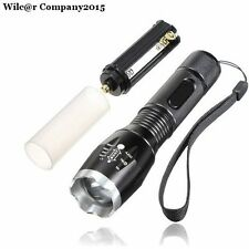 Military Grade Tactical Flashlight LED 1600 Lumens T6 Waterproof TC1200 Style
