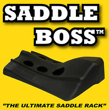 4 Saddle Racks by Saddle Boss perfect for horse trailer