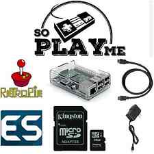 Retro Video Game Console - Raspberry Pi 3 - RetroPie - Kodi - SoPlayMe
