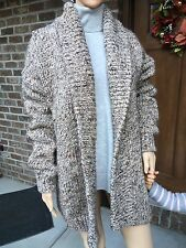 NWT ZARA OVERSIZED CARDIGAN PONCHO KNIT COAT Ref. 6771/122_One size M