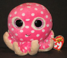 TY BEANIE BOOS BOO'S - OLLIE the OCTOPUS - MINT with MINT TAGS