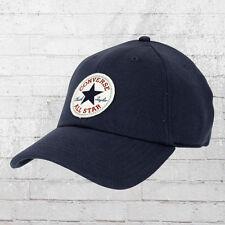 Converse Kappe Sweatshirt Baseball Cap blau Fleece Precurved Mütze Haube Hat
