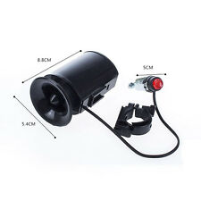 Cycling Black Electronic Bicycle Speaker Ultra-loud Siren Horn Alarm Bell Bike