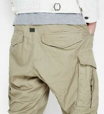 NEW - NWT - RRP $219 - Mens Stunning G-Star Raw  'ROVIC POUND TAPERED'  Cargos