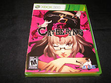 XBOX 360 GAME CATHERINE    -  BRAND NEW & FACTORY SEALED