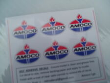 RETRODECAL AMOCO LARGE  '00' Gauge Self Adhesive Decals for Tank wagons