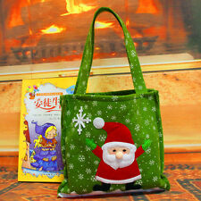 NEW Christmas Embroidered Apple Gift Bag Decor Gift Bag For Candy Festival Party