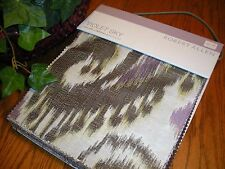 """Robert Allen Swatch Sample Fabric Book Color Library """"Violet Sky"""" Wovens #520064"""