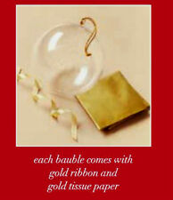 Avon Christmas Gift Bauble With Gold Ribbon & Tissue Paper Xmas  Stocking Filler