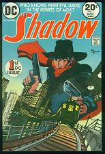 THE SHADOW # 1 - 1973 DC pulp fiction comic book + BONUS FREE SHADOW COLLECTABLE