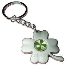 Lucky Irish Real Four-Leaf Clover 4-Leaf Keychain/Ring