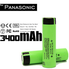 2 pcs Original Li-ion Japan Panasonic NCR18650B 3.7V 3400mAH Lithium Ion Battery