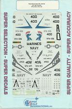 1/48 SuperScale Decals F/A-18D F/A-18C Hornet F-18B VFA-106 F-18C VF-147 48-610