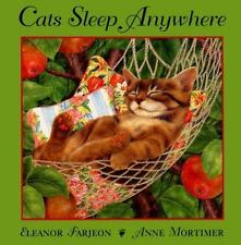 Trophy Picture Bks.: Cats Sleep Anywhere by Eleanor Farjeon (1999, Paperback)