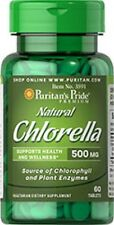 CHLORELLA HEALTH BLOOD CARDIO 500MG DIGESTION AID IMMUNITY SUPPORT 60 TABLETS