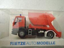 Rietze 60601 Iveco Feuerwehr Mulde aus Sammlung in OVP (*3)