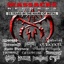 MASSACRE RECORDS 25 Years In The Name Of Metal 3-D-Cover - 2CD ( 200941 )