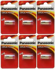 6 x Panasonic LR1 Battery 1.5V (N Type / MN9100) (6 Batteries) - New