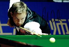 Ali CARTER AUTOGRAPH Signed Photo AFTAL COA SNOOKER 2016 Shanghai Masters