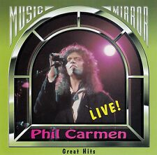 PHIL CARMEN : GREAT HITS (LIVE) / CD - TOP-ZUSTAND