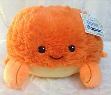 "Squishable Orange Crab Plush 7"" Mini Tanya K Open Squish"