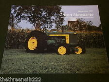 JOHN DEERE - GREEN MAGAZINE - DEC 1991 VOL 7 # 12 - 720 ROCK