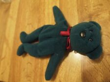 Gently-used Green Teddy Beanie Baby