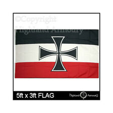 5' x 3' FLAG German Imperial Naval Jack Ensign Germany Navy Military Large Flags