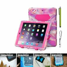 Shockproof Rugged Hybrid Full Protective Case Cover For Apple iPad Air 2 iPad 2