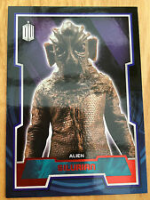 Topps Doctor Who 2015 Red Parallel 100 Base Card Silurian 49/50