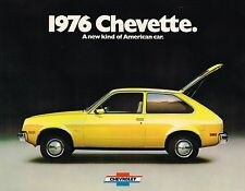1976 Chevy CHEVETTE Brochure / Pamphlet:SCOOTER,HATCHBACK,RALLY 1.6,SPORT,WOODY,