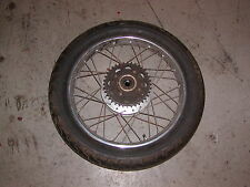 HONDA CL 350k interferenzaNverso RUOTA POSTERIORE REAR WHEEL