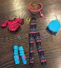 Monster High Doll Clothing, Shoes & Accessories Lot ~ Isi Dawndancer Outfit