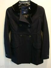 NWT Women American Eagle AE WOOL PEA COAT NAVY L