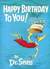 Happy Birthday to You! by Dr. Seuss, Hardcover, 1959, New, Free Shipping