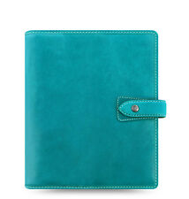 Filofax Malden Organizer/Planner A5 - Kingfisher Blue - 026027 - 100% Leather