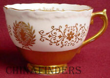 COALPORT china LADY ANNE GOLD pattern Cup ONLY