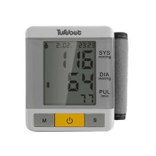Wrist Style Digital Blood Pressure Monitor Cuff with Large 2.6 Inch LCD Display