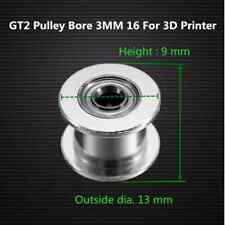 GT2 Pulley Bore 3MM 16 Without Teeth Idle Pulley Timing Gear For GT2 Belt Width
