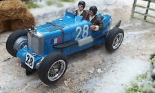 Probuild 1/32 Slot Car Mg K3 (Racer) Francés blue/wire Ruedas # 28 mb/rtr