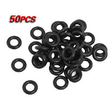 50 Pcs Flexible Nitrile Rubber O Rings Washers Grommets 4mm x 9mm x 2.5mm HY