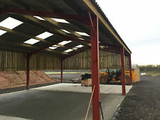 Steel Frame Building 25ft x 45ft x 15ft Www.buildings-uk.com