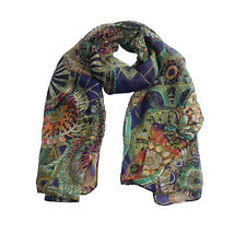 2016 Women Girl Chiffon Scarf Printed Silk Long Soft Scarf Scarf