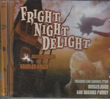 Music CD Fright Night Delight Music and Sounds For a Haunted House